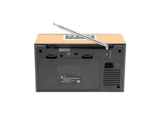 Радиоприемник Сигнал БЗРП РП-309 серый/светлое дерево