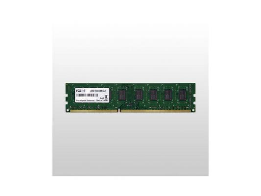 Оперативная память 8Gb PC3-10600 1333MHz DDR3 DIMM Foxline FL1333D3U9-8G корпус miditower atx 450w usb black fl 922 fz450r foxline