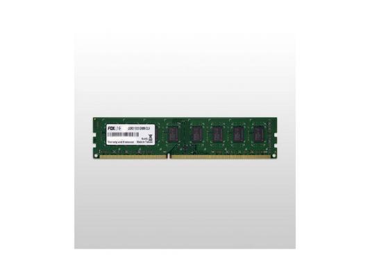 Оперативная память 8Gb (1x8Gb) PC3-10600 1333MHz DDR3 DIMM CL9 Foxline FL1333D3U9-8G оперативная память 8gb pc3 12800 1600mhz ddr3 dimm foxline fl1600d3u11l 8g
