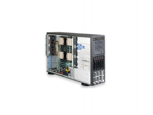 "Серверная платформа SuperMicro SYS-8047R-7RFT+ 4U 4xLGA2011 C602 32xDDR3 5x3.5"" SAS2/SATA Raid 2x10Gigabit SVGA 1400 Вт"