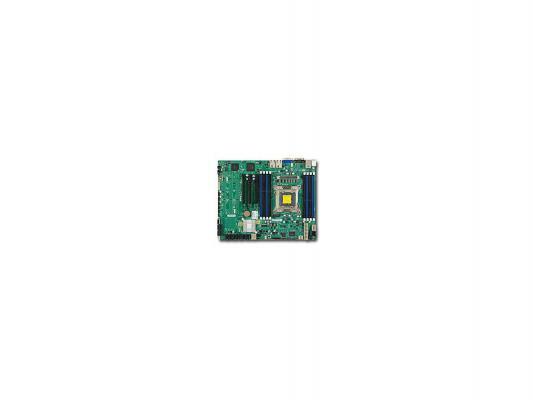 "Серверная платформа SuperMicro SYS-5017R-MTRF 1U LGA2011 C602 8xDDR3 4x3.5"" SATA 3xGigabit Ethernet 400 Вт"