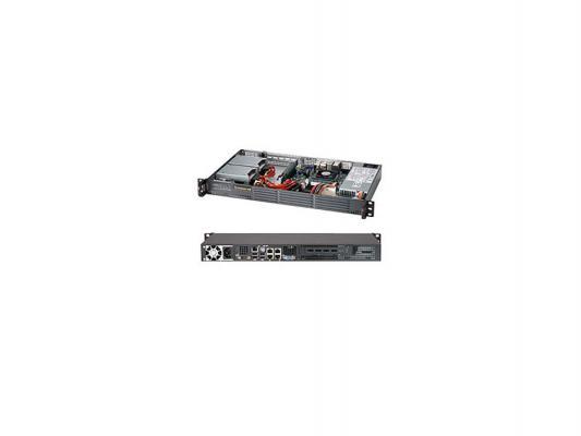 """Серверная платформа SuperMicro SYS-5017P-TLN4F 1U i7 3612QE 2xDDR3 2x2.5""""/3.5"""" SATA 4xGigabit Ethernet 200 Вт"""