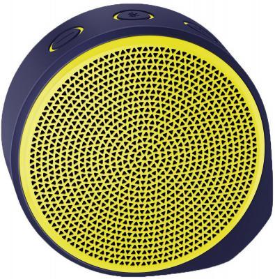 Портативная акустика Logitech X100 Mobile Speaker желтый 984-000364