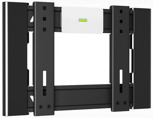 Кронштейн Holder LCD-F2606-B черный для ЖК ТВ 22-47 настенный от стены 18мм наклон 0° VESA 200x200 до 30 кг holder lcd t2609 b для 22 47 металлик