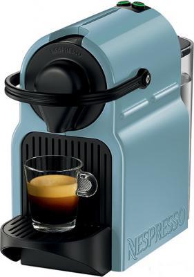 Кофемашина Krups XN 100410 Nespresso Inissia капсульная 0.7л 1260Вт голубой