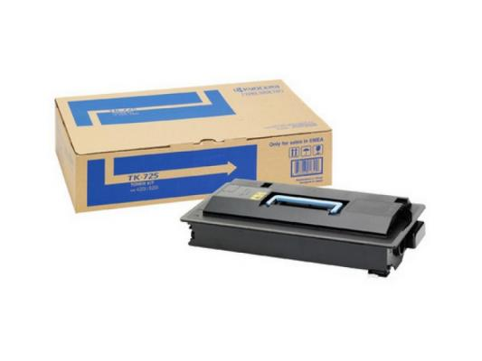 Тонер Kyocera TK-725 для TASKalfa 420i/520i. Чёрный. 34000 страниц. new original kyocera 303jx44011 motor dp for dp 750 ta250ci 300ci 400ci 500ci 420i 520i