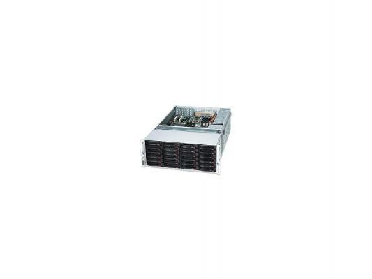 Серверный корпус 4U Supermicro CSE-847E16-R1400LPB 1400 Вт чёрный