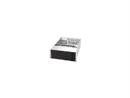 Серверный корпус 4U Supermicro CSE-846E16-R1200B 1200 Вт чёрный