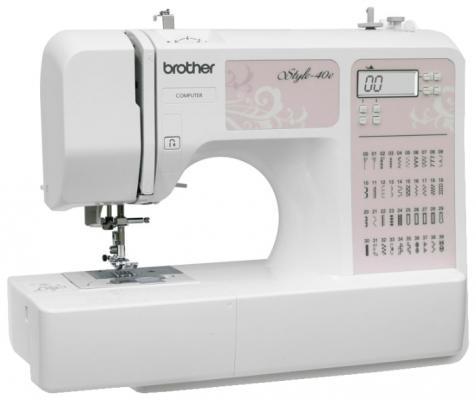 Швейная машина Brother Style 40E бело-розовый