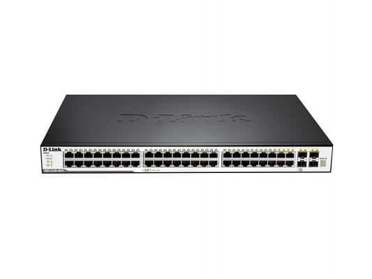 Коммутатор D-LINK DGS-3120-48TC/B1ARI управляемый 48 портов 10/100/1000Mbps 4 Combo 10/100/1000BASE-T/SFP 2x10G CX4 for uplinks d link dgs 3120 48pc