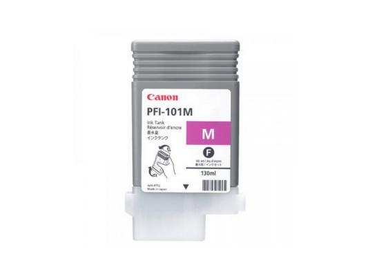 Картридж Canon PFI-101 M для iPF5100 пурпурный картридж magenta pfi 701m пурпурный пигментный