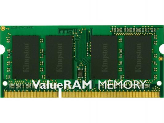 Оперативная память для ноутбуков SO-DDR3 4Gb PC10600 1333MHz Kingston CL9 KVR13LSE9S8/4
