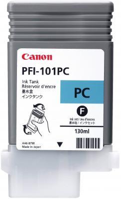 Картридж Canon PFI-101 PC для iPF5100 фото-голубой canon pt 101