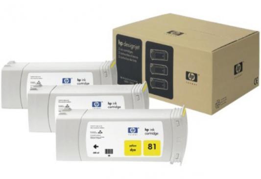 Картридж HP C5069A №83 для DJ 5000 желтый 3шт цена