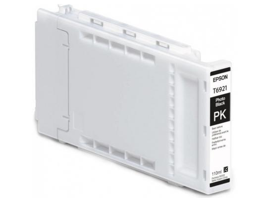 Картридж Epson C13T692100 для Epson SC-T3000/T5000/T7000 фото-черный 110мл 1 pc waste ink tank for epson sure color t6941 t3070 t5070 t7070 t7000 printer maintenance tank box