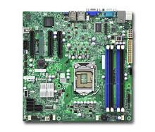 Материнская плата для ПК Supermicro MBD-X9SCL-F-O Socket 1155 C202 4xDDR3 1xPCI-E 4x 2xPCI-E 8x 6xSATA II mATX Retail