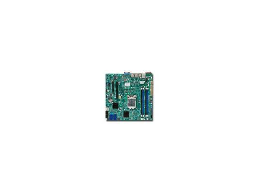 Материнская плата SuperMicro MBD-X10SL7-F-O 1xLGA 1150 C222 4xDIMM 1xPCI-E x8 1xPCI-E x4 2xSATAIII 4xSATAII mATX Retail