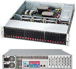 Серверный корпус 2U Supermicro CSE-216E16-R1200LPB 1200 Вт чёрный