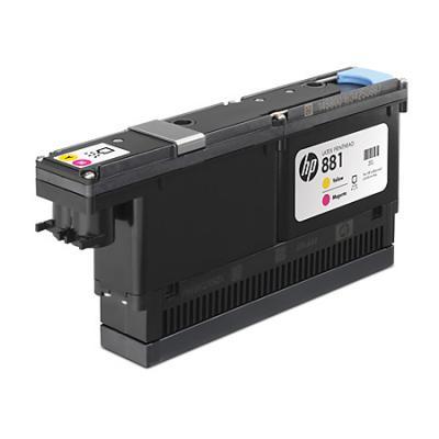 Печатающая головка HP CR327A №881 для HP LX610 желтый пурпурный apm4953 4953 sop8