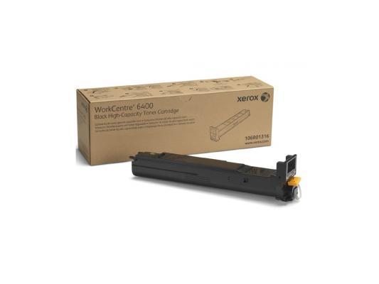 Тонер-Картридж Xerox 106R01316 для WC 6400 черный 12000стр тонер xerox 006r01606 для wc5945 5955 черный 62000стр 2шт