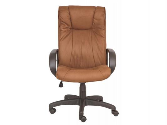 Кресло Buro CH-838AXSN/F5 нубук коричневый