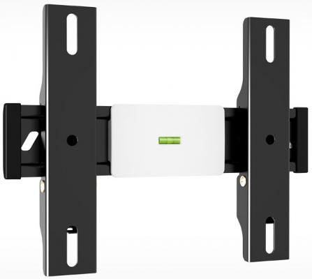 "Кронштейн Holder LCD-F2610-B черный для ЖК ТВ 22-47"" настенный от стены 33мм наклон 0° VESA 200x200 до 30кг"
