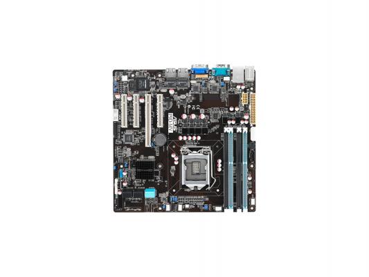Мат. плата для ПК ASUS P9D-MV Socket 1150 Intel C222 4xDDR3 1xPCI-E 16x 3xPCI-E 8x 4xSATA II 2xSATAIII mATX Retail