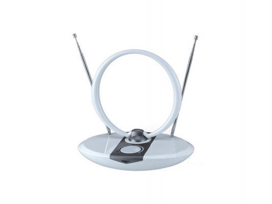 Антенна Сигнал SAI 965 DVB-T и ДМВ+МВ активная белая
