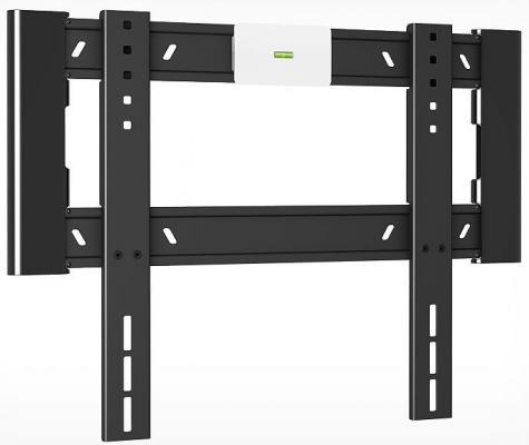 Кронштейн Holder LCD-F4607-B черный для ЖК ТВ 32-65 настенный от стены 18мм наклон 0° VESA 400x400 до 40 кг кронштейн holder lcd f4607 b черный для жк тв 32 65 настенный от стены 18мм наклон 0° vesa 400x400 до 40 кг