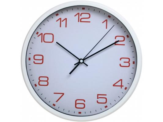 Часы Бюрократ WallC-R07P/white настенные аналоговые белый часы настенные аналоговые бюрократ черные