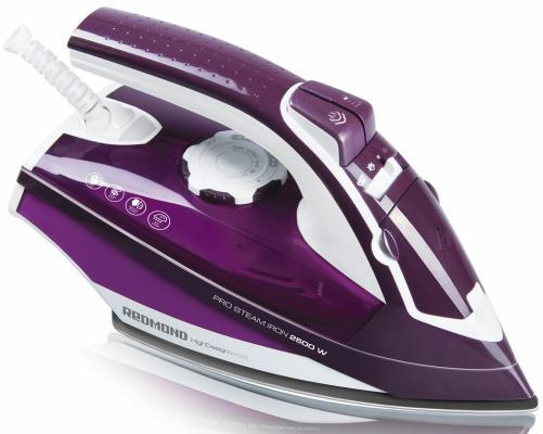 Утюг Redmond RI-C224 2400Вт фиолетовый утюг redmond ri c219 голубой