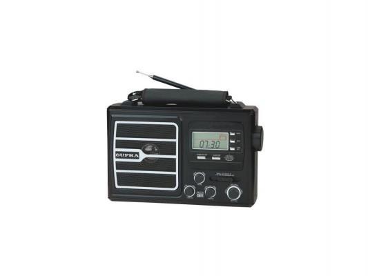 Радиоприемник Supra ST-110 черный