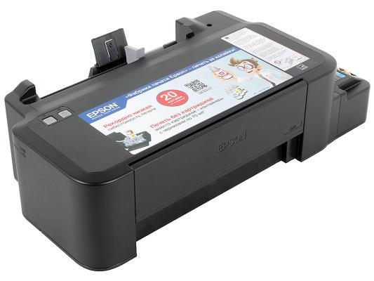 Принтер EPSON L120 (Фабрика Печати, 720x720dpi, струйный, A4, USB 2.0) принтер струйный epson l312