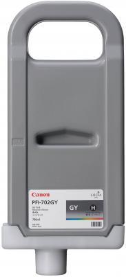 Картридж Canon PFI-702GY для iPF8100/9100 серый  ikea рэттвикен белая 702 165 77