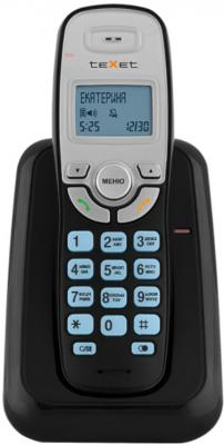 Радиотелефон DECT Texet TX-D6905A черный радиотелефон