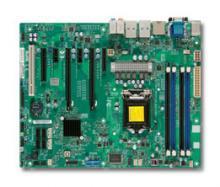 Материнская плата SuperMicro MBD-X9SAE-V-O 1xLGA 1155 C216 4xDIMM 2xPCI-E 3.0 x8 (x16 slot) 2xPCI-E 2.0 x4 (1 x8 slot) 2xPCI-E 2.0 x1 1xPCI-32bit 5V 2xSATAIII 4xSATAII Retail