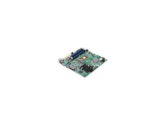 Материнская плата для ПК Supermicro MBD-X9SCM-O Socket 1155 C204 4xDDR3 2xPCI-E 4x 2xPCI-E 8x 4xSATA II 2xSATAIII mATX Retail