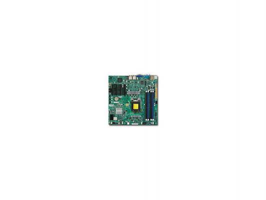 Мат. плата для ПК Supermicro MBD-X9SCM-F-O Socket 1155 C204 4xDDR3 2xPCI-E 4x 2xPCI-E 8x 4xSATA II 2xSATAIII ATX