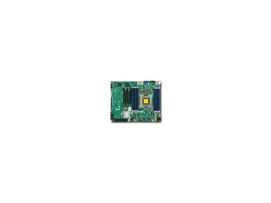 Мат. плата для ПК Supermicro MBD-X9SRI-F-O Socket 2011 C602 8xDDR3 1xPCI-E 16x 1xPCI-E 4x 1xPCI-E 8x 4xSATA II 2xSATAIII ATX Retail
