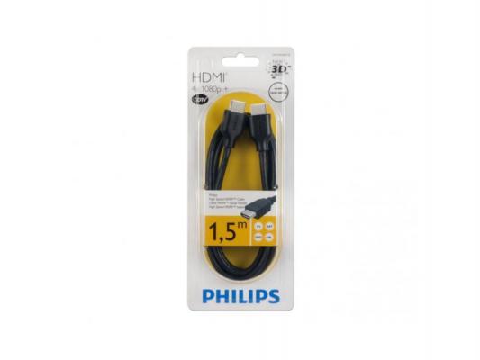 Кабель HDMI-HDMI 1.5м Philips SWV2432W/10
