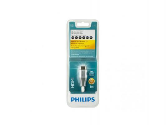 Кабель HDMI-HDMI 1.0м Philips SWV3430S/10