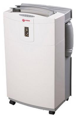 Мобильный кондиционер RODA RMC09-BA Охлаждение, 6,67м/куб, мощность 2600ВТ, пульт ДУ,таймер,