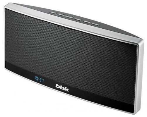 Беспроводная акустика BBK BTA120 черный/металлик