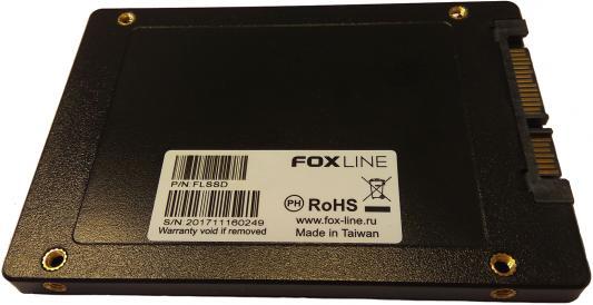 SSD Твердотельный накопитель 2.5 240 Gb Foxline SATA III FLSSD240X3 kingfast ssd 128gb sata iii 6gb s 2 5 inch solid state drive 7mm internal ssd 128 cache hard disk for laptop disktop