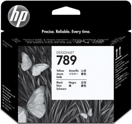 Печатающая головка HP CH612A №789 для HP DesignJet L25500 желтый черный hot sales 80 printhead for hp80 print head hp for designjet 1000 1000plus 1050 1055 printer