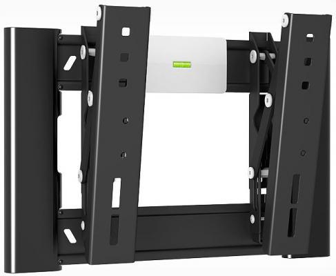 Кронштейн Holder LCD-T2607-B черный для ЖК ТВ 22-47 настенный от стены 40мм наклон -2+15° поворот 0° до 30 кг