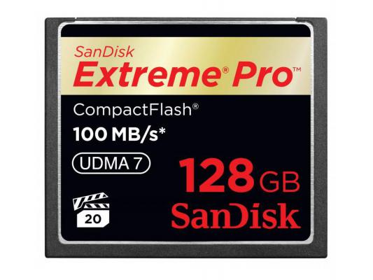 Карта памяти Compact Flash Card 128Gb SanDisk VPG 65 UDMA 7 SDCFXPS-128G-X46 карта памяти compact flash card 256gb sandisk vpg 65 udma 7 sdcfxps 256g x46