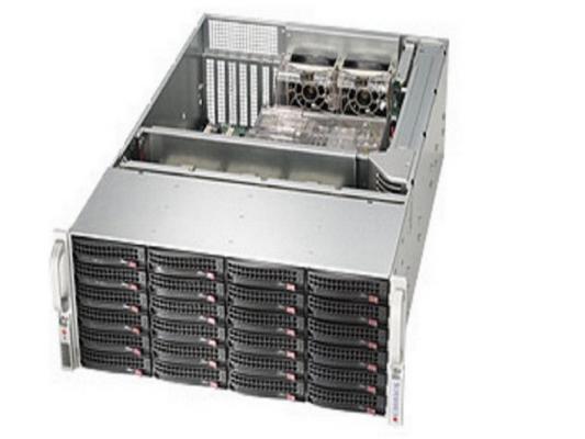 лучшая цена Серверный корпус 4U Supermicro CSE-846BE16-R920B 920 Вт серебристый