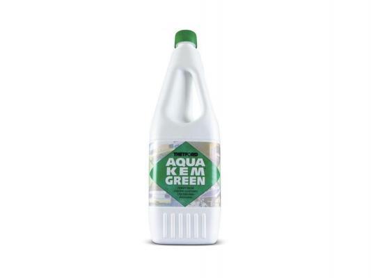 Жидкость для биотуалета Thetford Aqua Kem Green (в нижний бак, зелёная без формальдегида, объём 1.5л) жидкость thetford aqua kem green