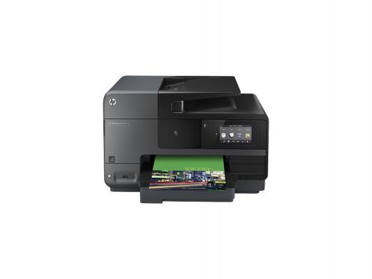 МФУ HP Officejet Pro 8620 <A7F65A> принтер/сканер/копир/факс A4, 21/16 стр/мин, дуплекс, ADF, 128Мб, USB, LAN, WiFi (замена OJ8600 Plus CM750A)